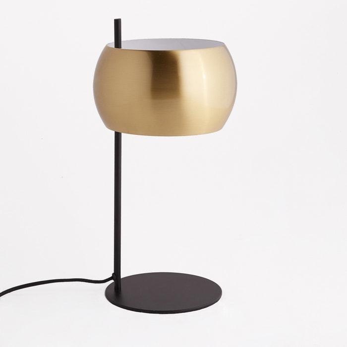 Lampada da tavolo metallo nero e ottone, Elori  La Redoute Interieurs image 0
