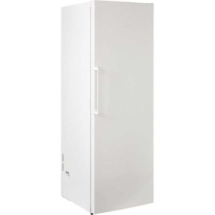 cong lateur armoire bosch gsv33vw31 blanc bosch la redoute. Black Bedroom Furniture Sets. Home Design Ideas