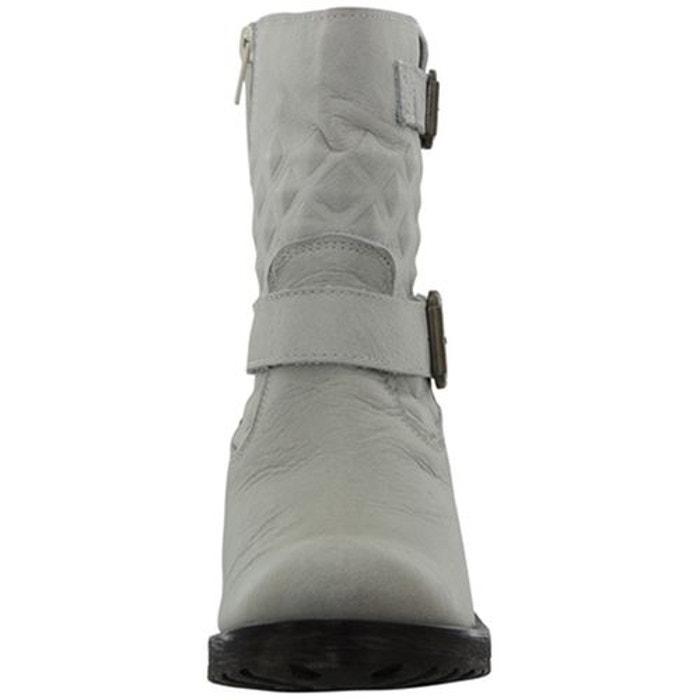 Bottines / boots cuir blanc Mtng La Sortie Récentes MCJ1zz0F