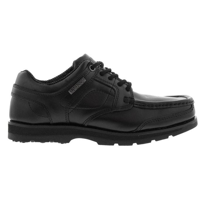 Chaussures mocassins à lacets  noir Kangol  La Redoute