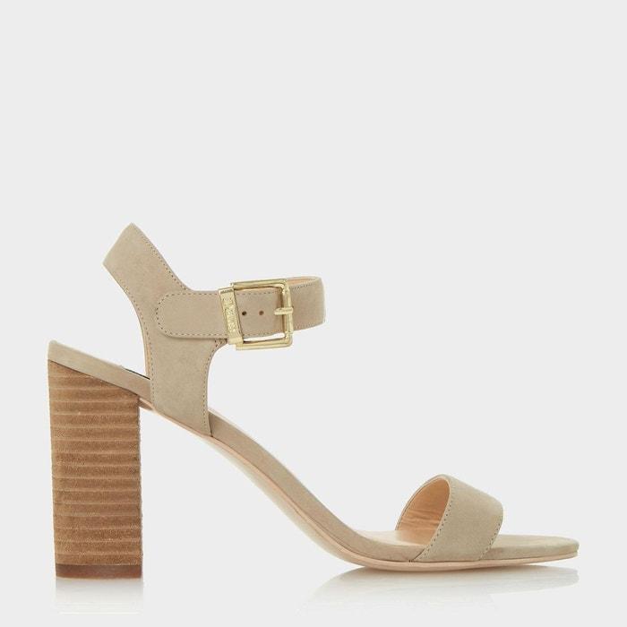 Sandales en deux parties à talons bottiers - isobel  Dune London  La Redoute