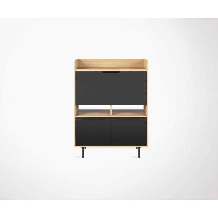Betere Bureau secrétaire design moderne 104cm bois naturel et lime EF-59