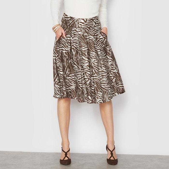 Image Rozszerzająca się ku dołowi spódnica z pięknie układającej się tkaniny ANNE WEYBURN
