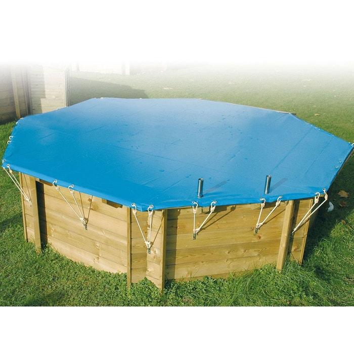 b che hiver pour piscine bois azura ubbink 2 00 x 3 50 m. Black Bedroom Furniture Sets. Home Design Ideas