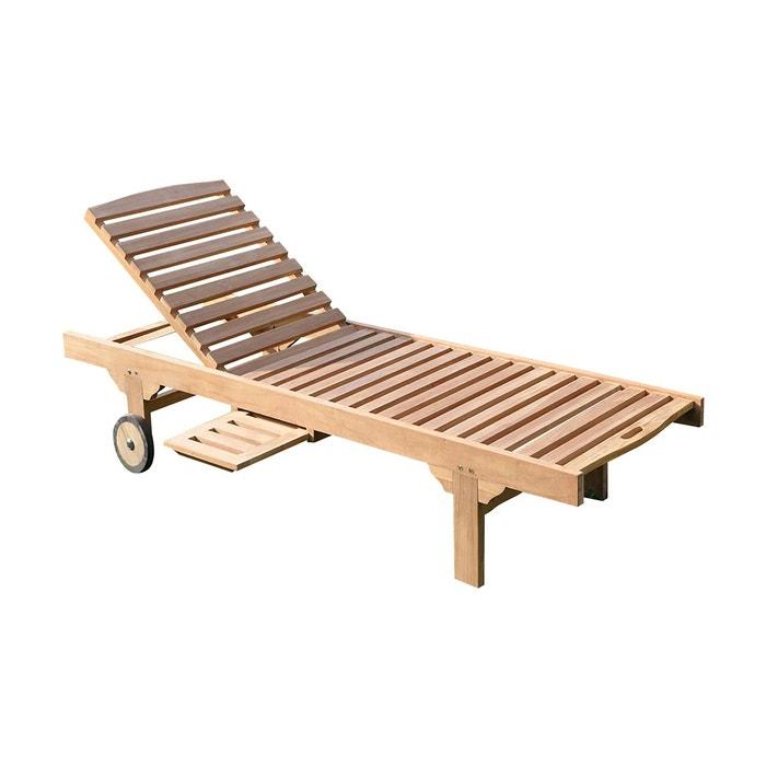 bain de soleil palma en teck haut de gamme bois. Black Bedroom Furniture Sets. Home Design Ideas