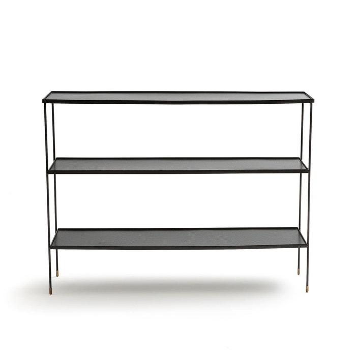 console metal perfor lungelo noir am pm la redoute. Black Bedroom Furniture Sets. Home Design Ideas
