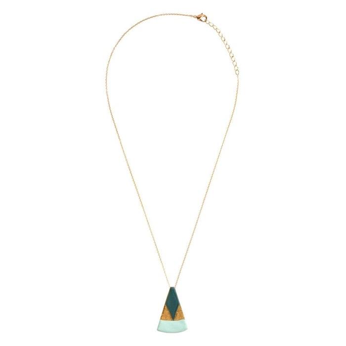Collier ras de cou triangle créateur vert pistache Little Woman Paris | La Redoute Livraison Gratuite Fiable 78qzrq