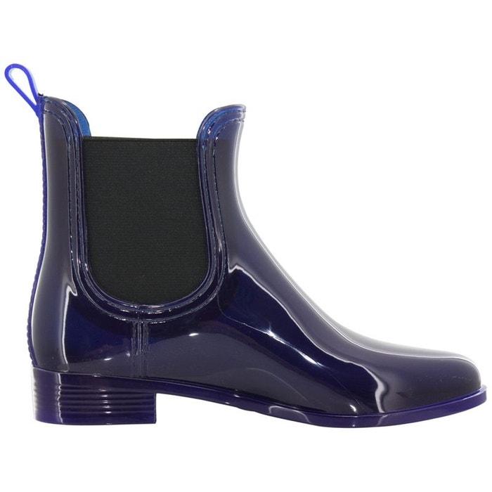 Bottines  /   boots pvc  violet Gioseppo  La Redoute