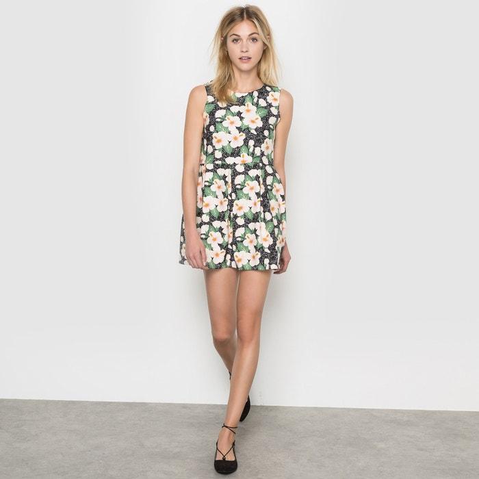 robe imprimee fleurs molly bracken noir imprime fleuri With affiche chambre bébé avec robe blanche imprimée fleurs