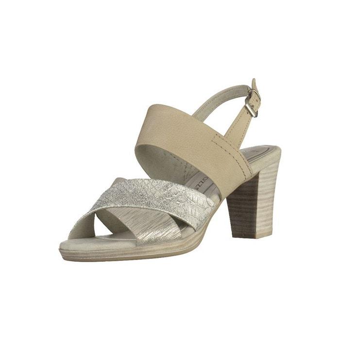 Sandales  gris Marco Tozzi  La Redoute