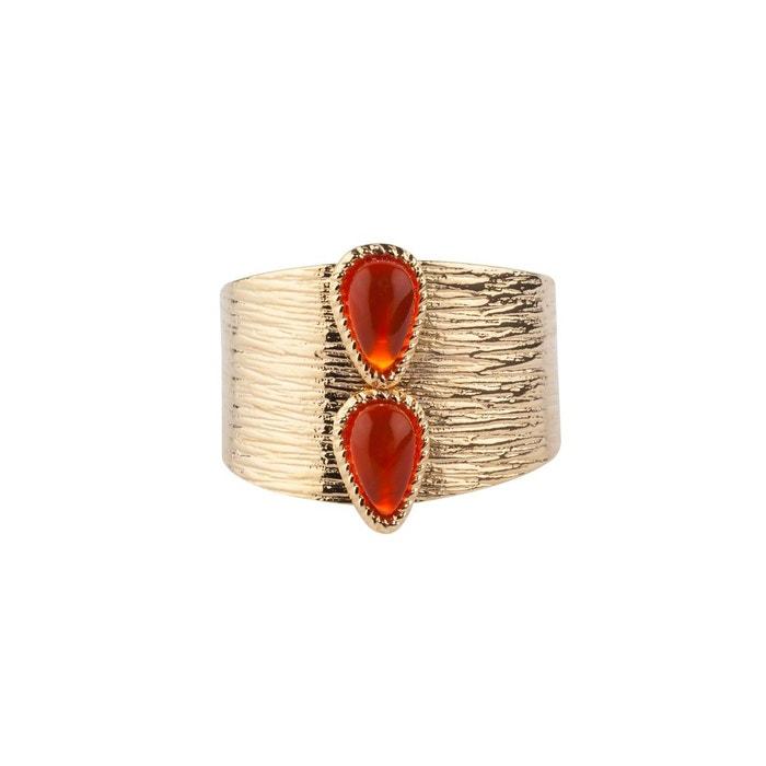 Bague ajustable dorée pierres fines nikky Luma Jewels | La Redoute Où Acheter Des Biens Pas Cher Boutique Offre De Prix Pas Cher yH7WXm