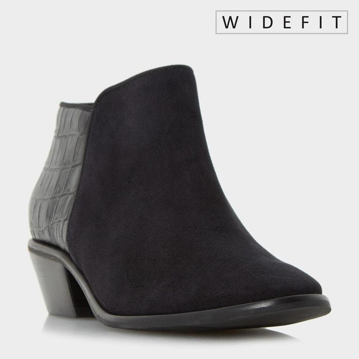 Wide fit mixed material ankle boot Livraison Gratuite Achats En Ligne 100% Garantie De Vente En Ligne j1tR62yLZQ
