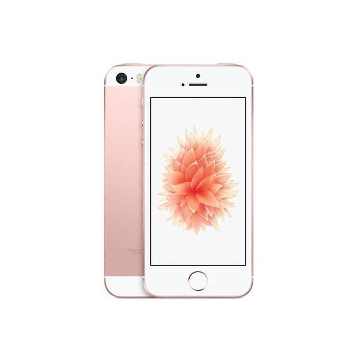 smartphone apple iphone se 32go rose gold rose apple la redoute. Black Bedroom Furniture Sets. Home Design Ideas