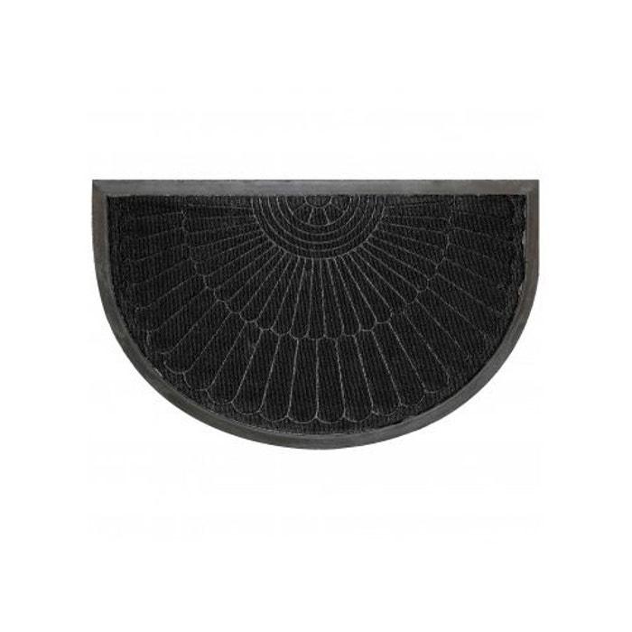 tapis d 39 entr e demi lune reliefs en polypropyl ne. Black Bedroom Furniture Sets. Home Design Ideas