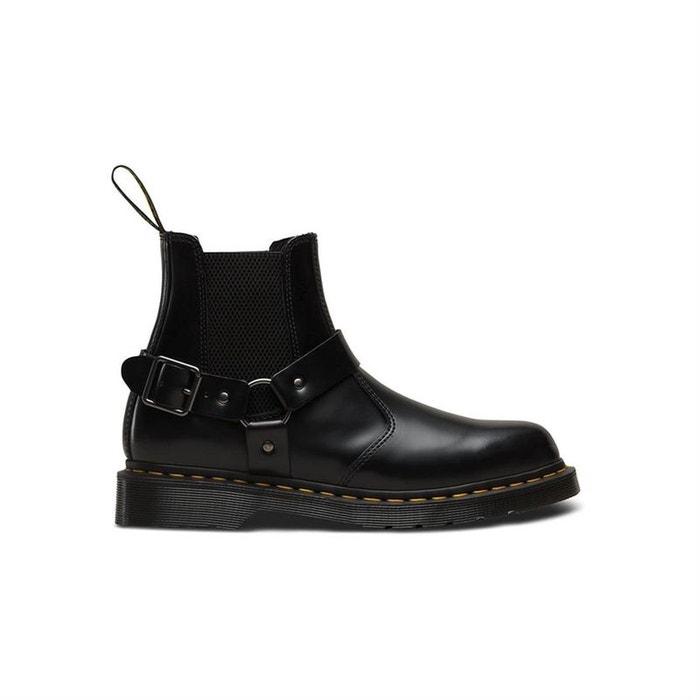 Bottines   boots cuir noir Dr Martens   La Redoute 32cea2f4434b