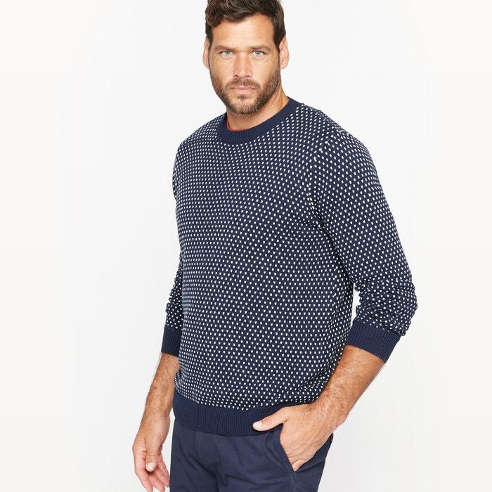 Image Two-Tone Jacquard Jumper/Sweater CASTALUNA FOR MEN