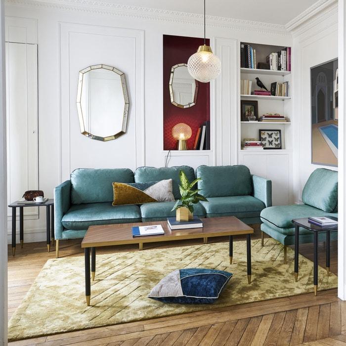 chevron rug ochre maison p re x la redoute la redoute. Black Bedroom Furniture Sets. Home Design Ideas