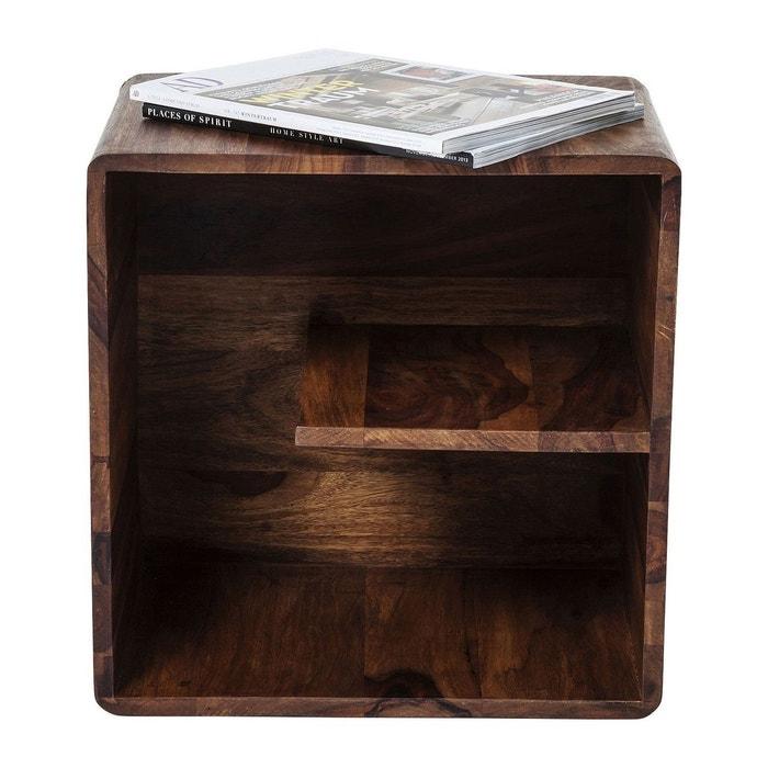 cube authentico uno kare design bois fonce kare design. Black Bedroom Furniture Sets. Home Design Ideas