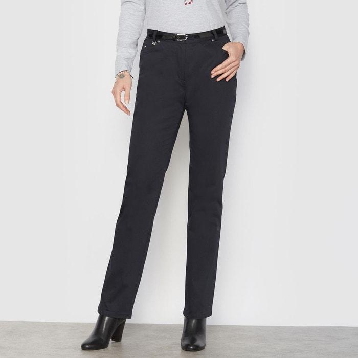 Pantalon droit, taille descendue ANNE WEYBURN