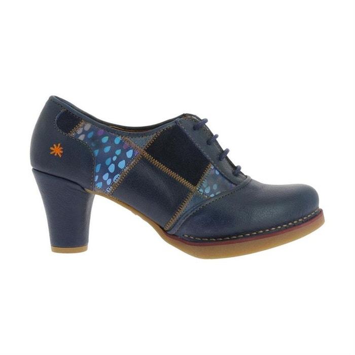 Cuir Lacets Redoute Bleu À Chaussures ArtLa wnv8mN0O