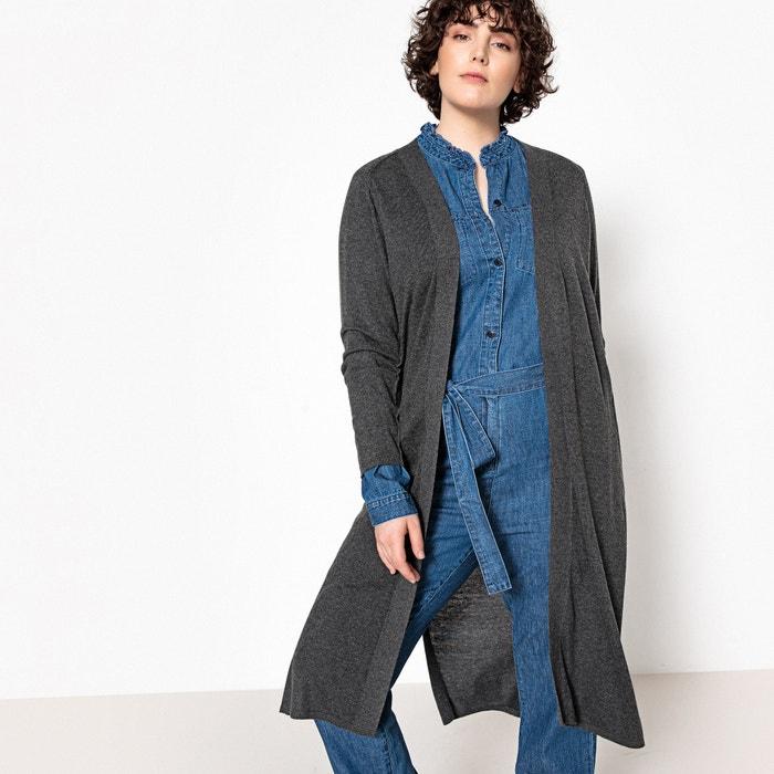Long Cotton Open Cardigan  CASTALUNA image 0