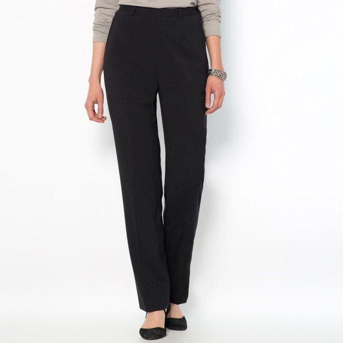 Pantaloni con cerniera laterale, dal comfort stretch  ANNE WEYBURN image 0