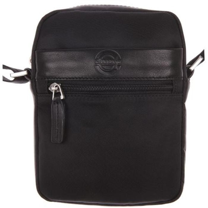 Petite sacoche à poches zippées Chabrand Noire NQMLTxww