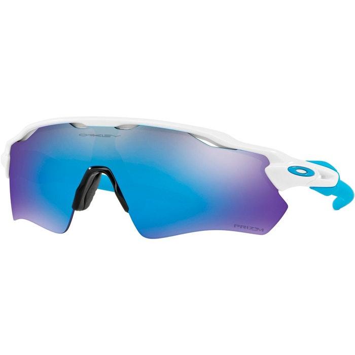 f76dc6df445768 Radar ev path - lunettes cyclisme - bleu blanc bleu Oakley   La Redoute