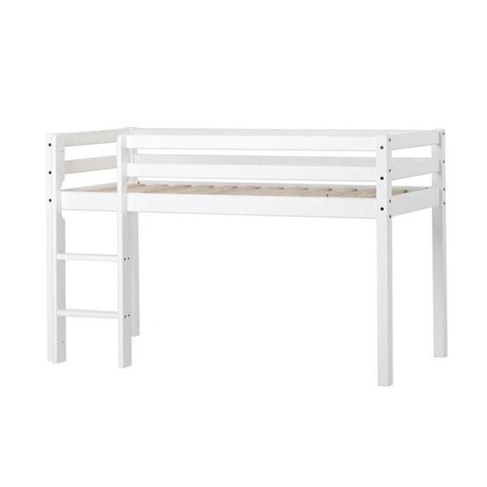 Lit mezza basic 70x160 blanc Nordic Factory | La Redoute
