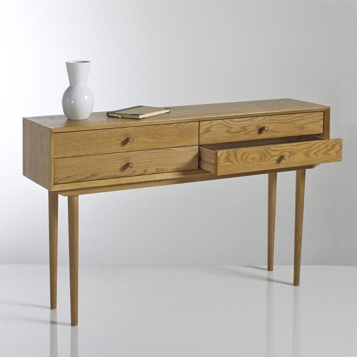 Image QUILDA Vintage 4-Drawer Console Table La Redoute Interieurs
