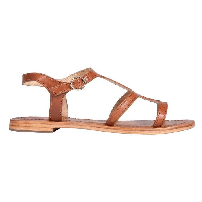 Sandales gabrielle tan Bons Baisers De Paname populaire Vente Pas Cher Authentique Faible Expédition En Ligne UglfxOobC