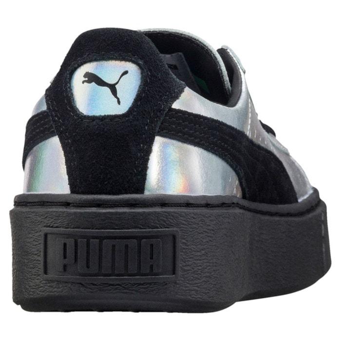 Chaussure basket platform explosive pour femme puma black-puma black Puma