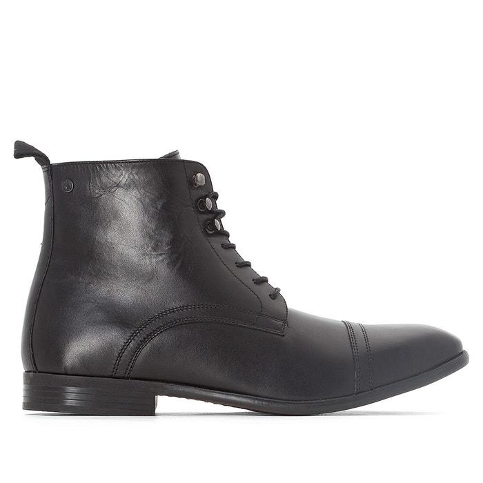 afbeelding Boots in leer CLAYTON BASE LONDON