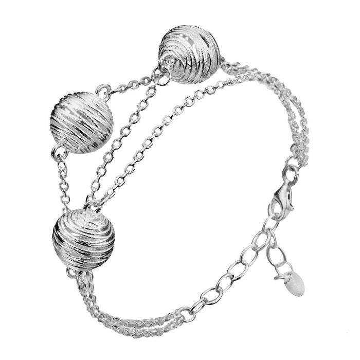 Original Rabais Bracelet en argent 925 argent Canyon | La Redoute Sortie Acheter Obtenir Jeu Footlocker Mp0sh