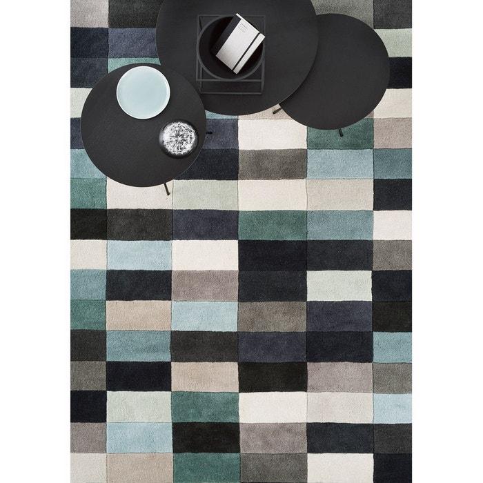 tapis pour sejour motif geometrique romina en laine par. Black Bedroom Furniture Sets. Home Design Ideas