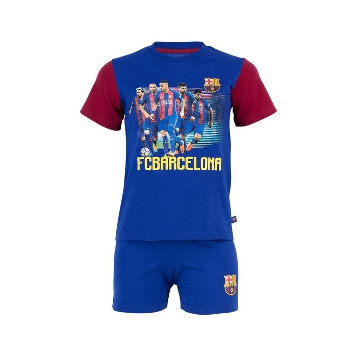 e4249de3996e9 Pyjama fc barcelone bleu junior bleu Made In Sport