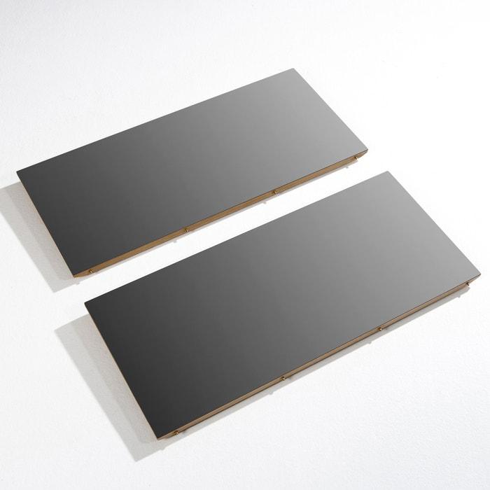 Verlengstuk voor uitschuifbare tafel buondi x2 zwart metaal am pm la redoute - Am pm stoelen ...
