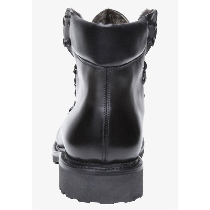 Boots en marron foncé anthrazit / schwarz Shoepassion