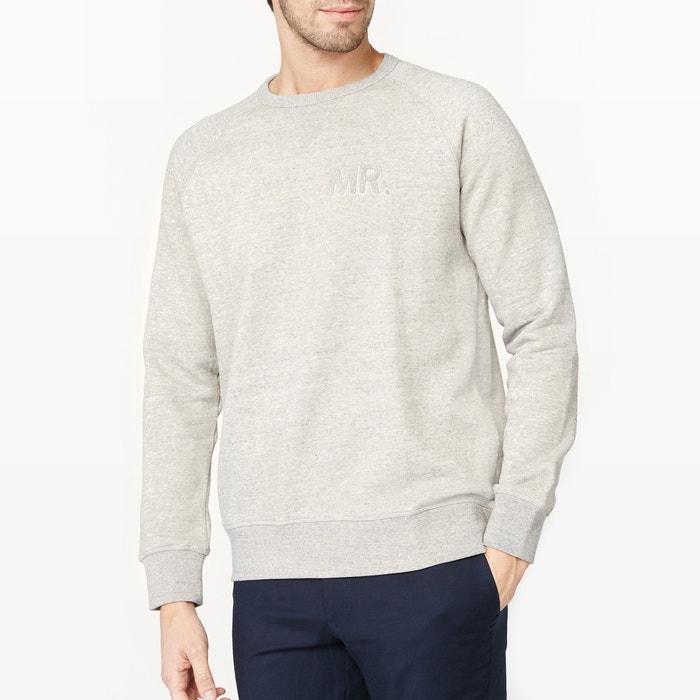 Image Crew Neck Sweatshirt with Boucle Motif R essentiel