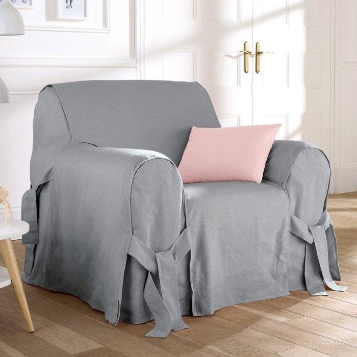 housse de fauteuil lin coton jimi la redoute interieurs la redoute. Black Bedroom Furniture Sets. Home Design Ideas
