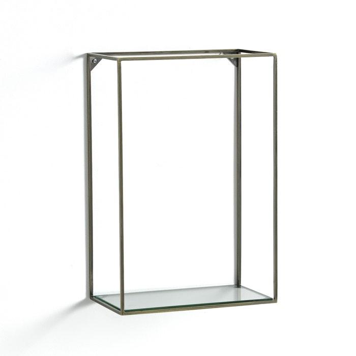 Oshota Vertical Metal/Glass Shelving Unit  AM.PM. image 0
