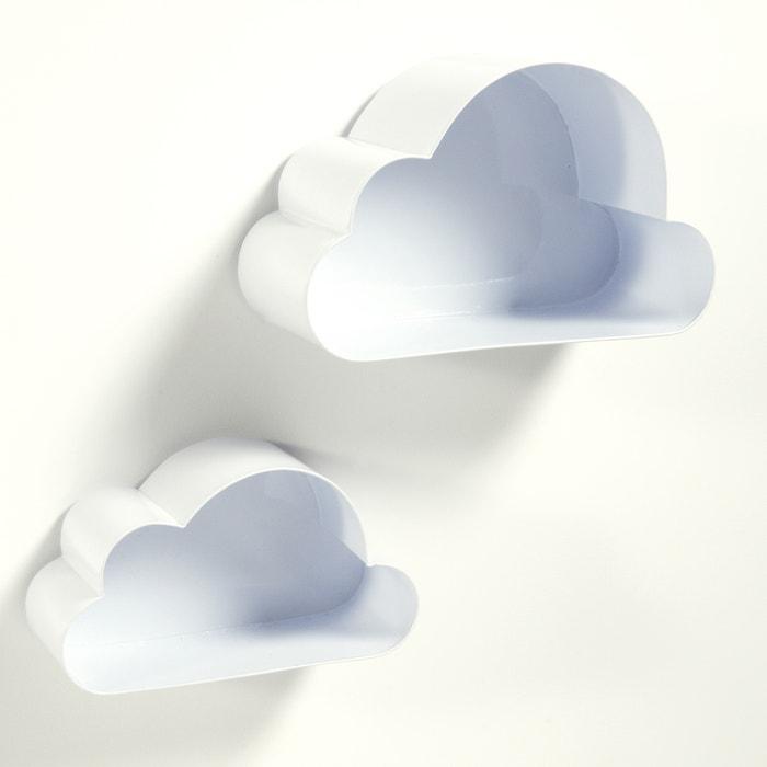 Set of 2 Spacielle Cloud Wall Shelves  La Redoute Interieurs image 0