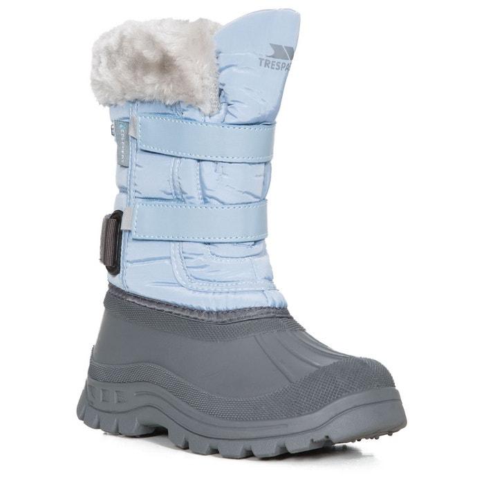 stroma ii bottes de neige enfant fille bleu trespass. Black Bedroom Furniture Sets. Home Design Ideas