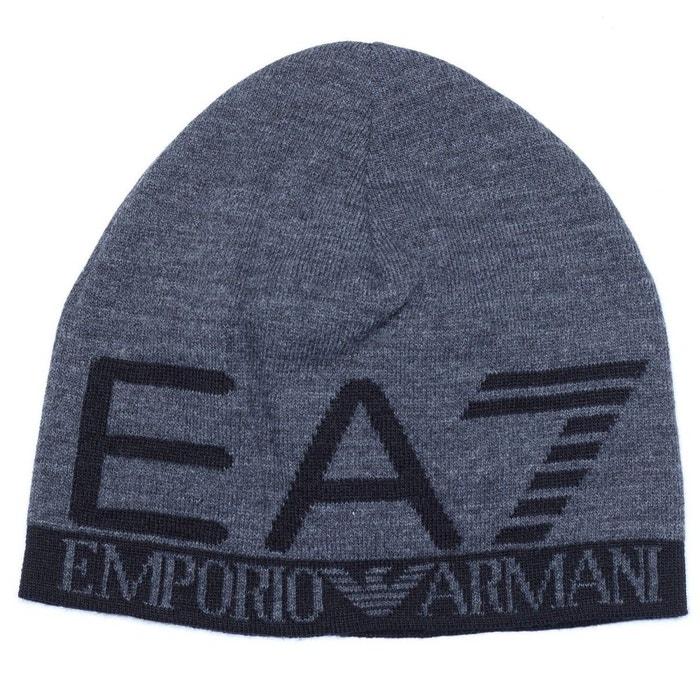 Bonnet ea7 emporio armani - 275560-7a393-00349 gris Ea7   La Redoute d03e3ab71e7