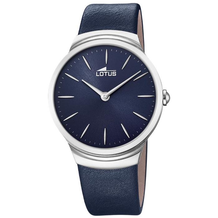 Montre en cuir bleu bleu Lotus | La Redoute Livraison Gratuite Excellente ya5SvjOWS