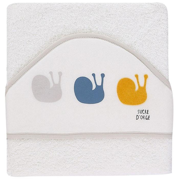 cape de bain ecru beige sucre d 39 orge la redoute. Black Bedroom Furniture Sets. Home Design Ideas
