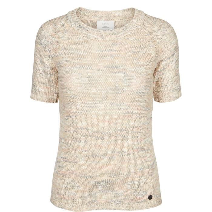 afbeelding Trui in ajour tricot met korte mouwen NUMPH