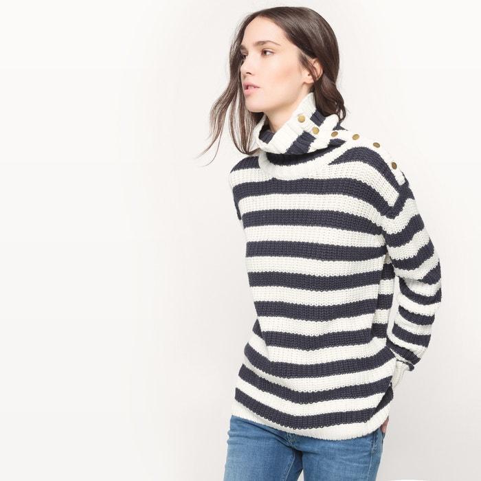 Striped Cotton Jumper.