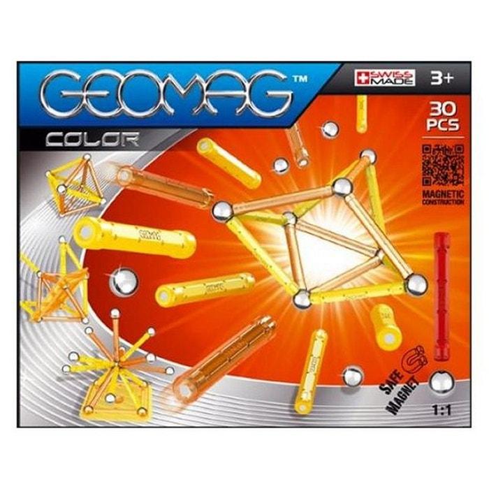geomag le jeu de construction aimant geomag color 30 multicolore giochi preziosi la redoute. Black Bedroom Furniture Sets. Home Design Ideas