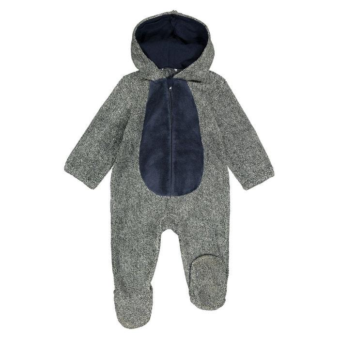 005c493af86c4 Pyjama déguisement dinosaure 1 mois-3 ans gris La Redoute Collections | La  Redoute